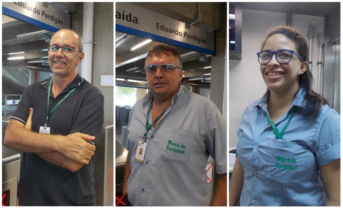 Agentes de estação: conheça os profissionais que administram a rotina no metrô e VLTs