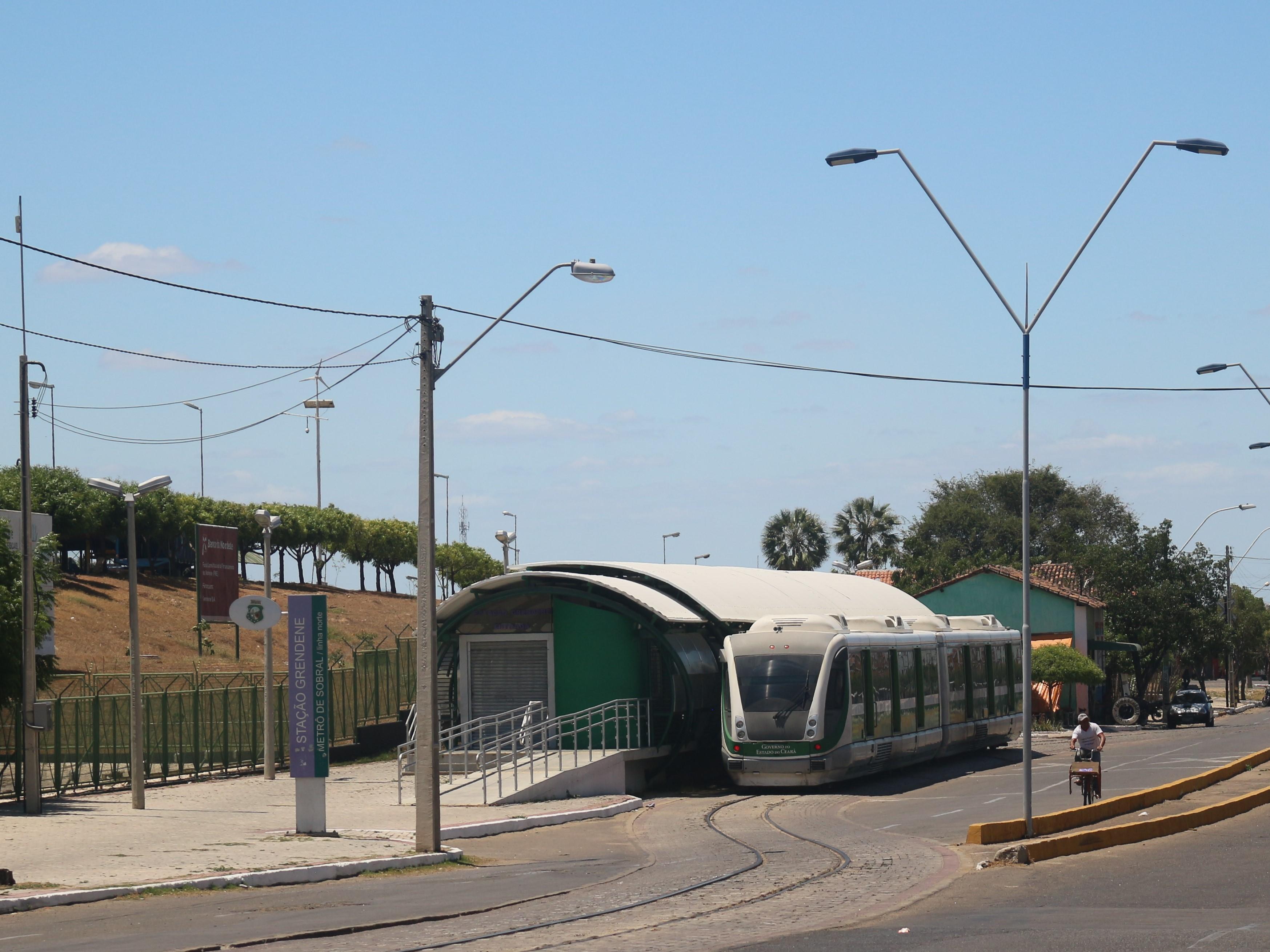 Número de passageiros no VLT de Sobral triplica em 2018
