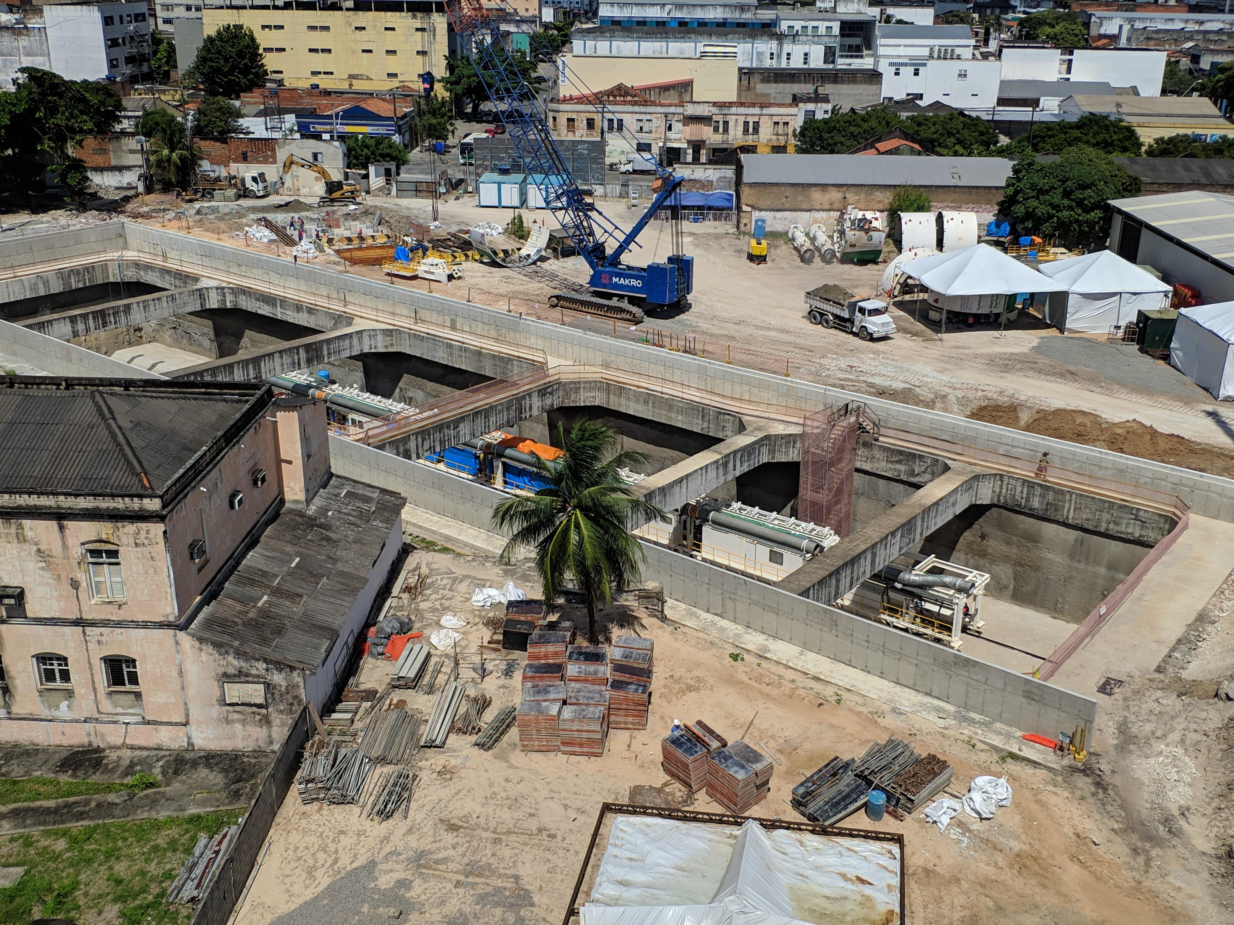 Linha Leste – Seinfra inicia construção da Estação Colégio Militar