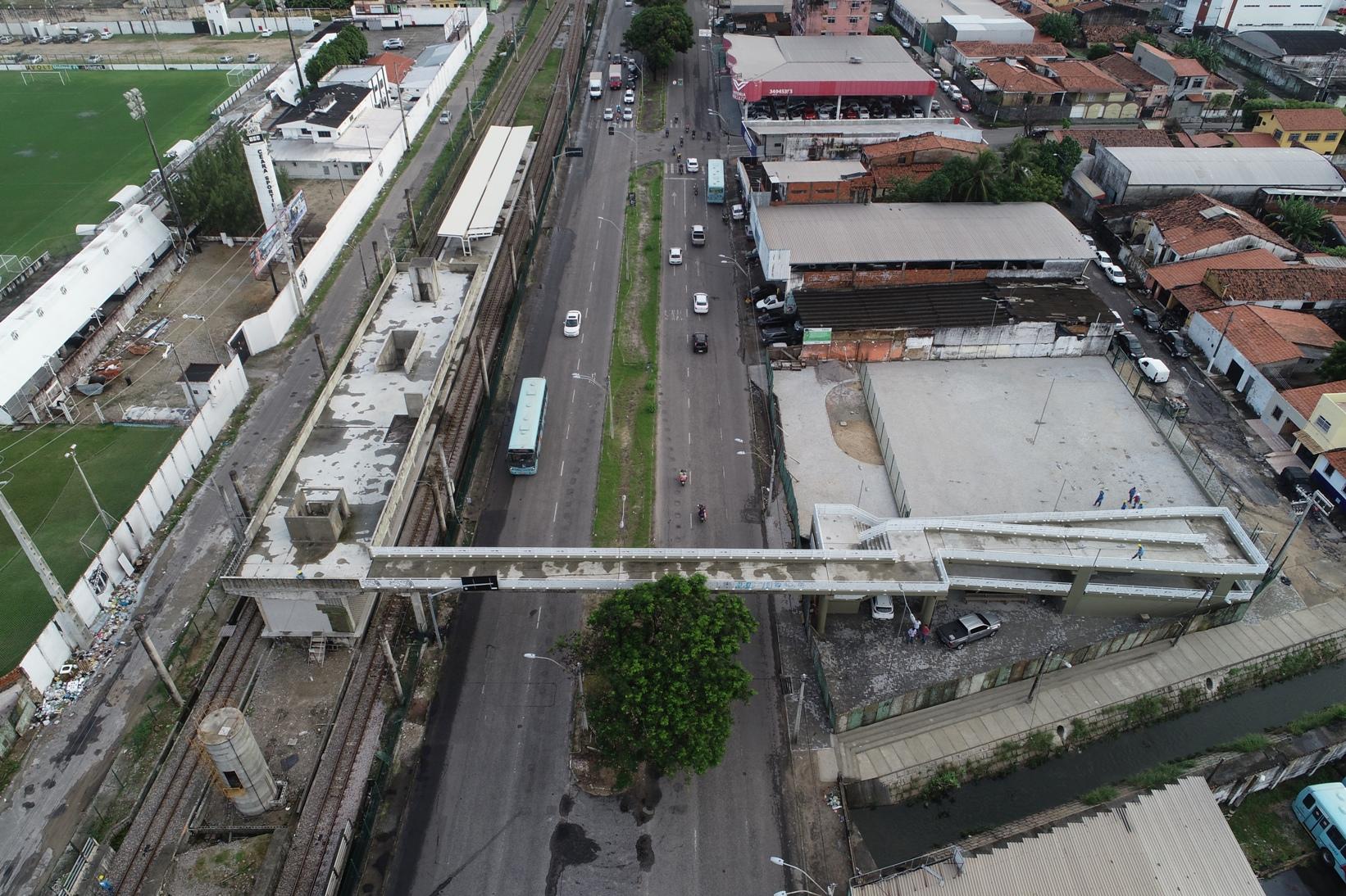 Estação Padre Cícero entra na reta final de construção e Av. José Bastos terá interdição parcial