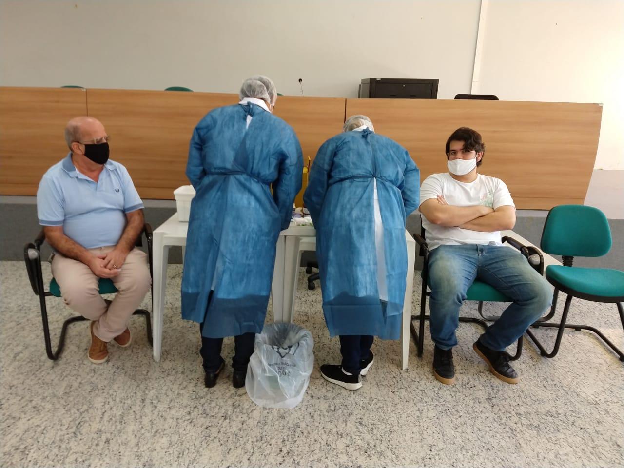 Metrofor realiza testes de covid-19 em seus funcionários
