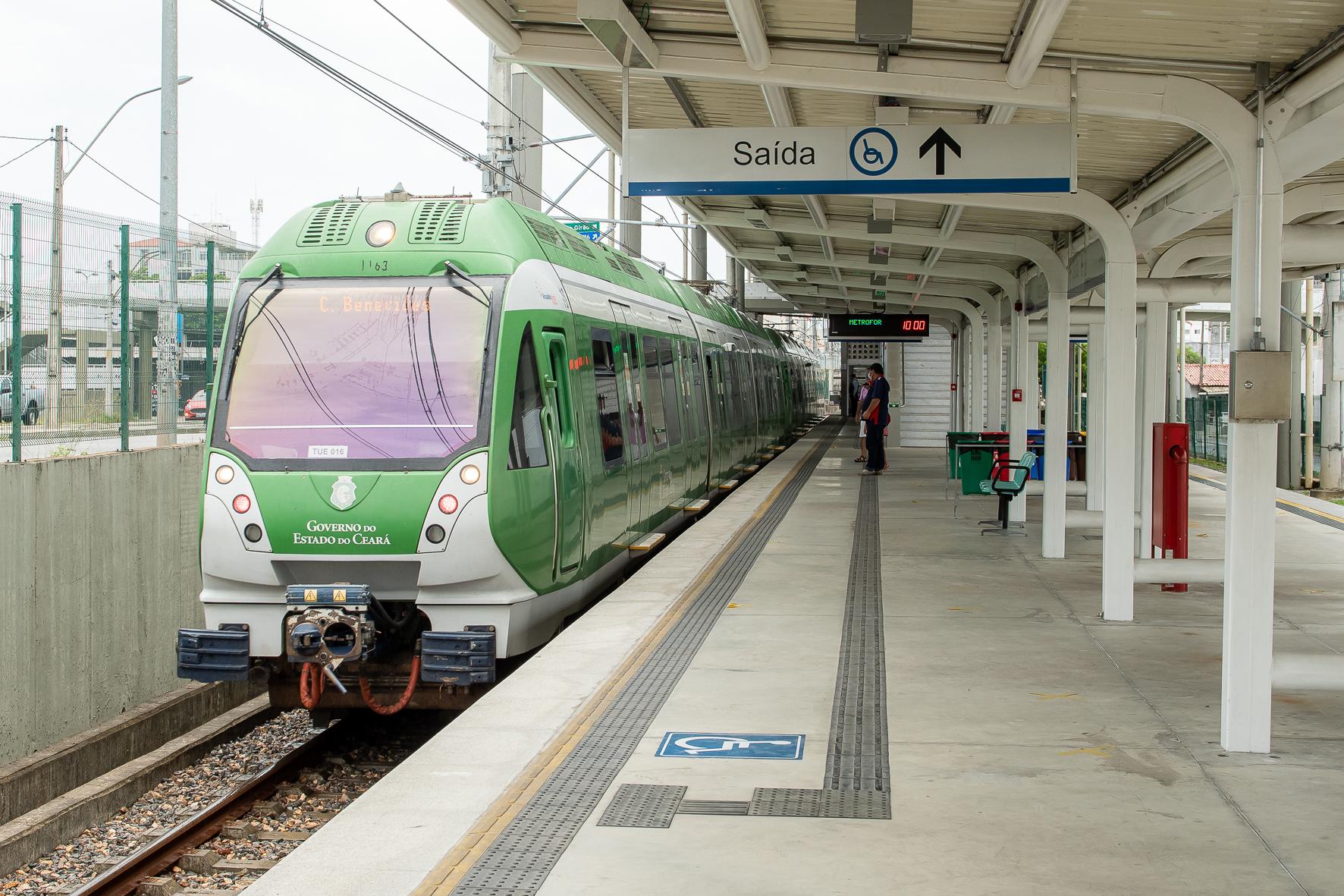 Linha Sul do Metrofor completa 9 anos de operação