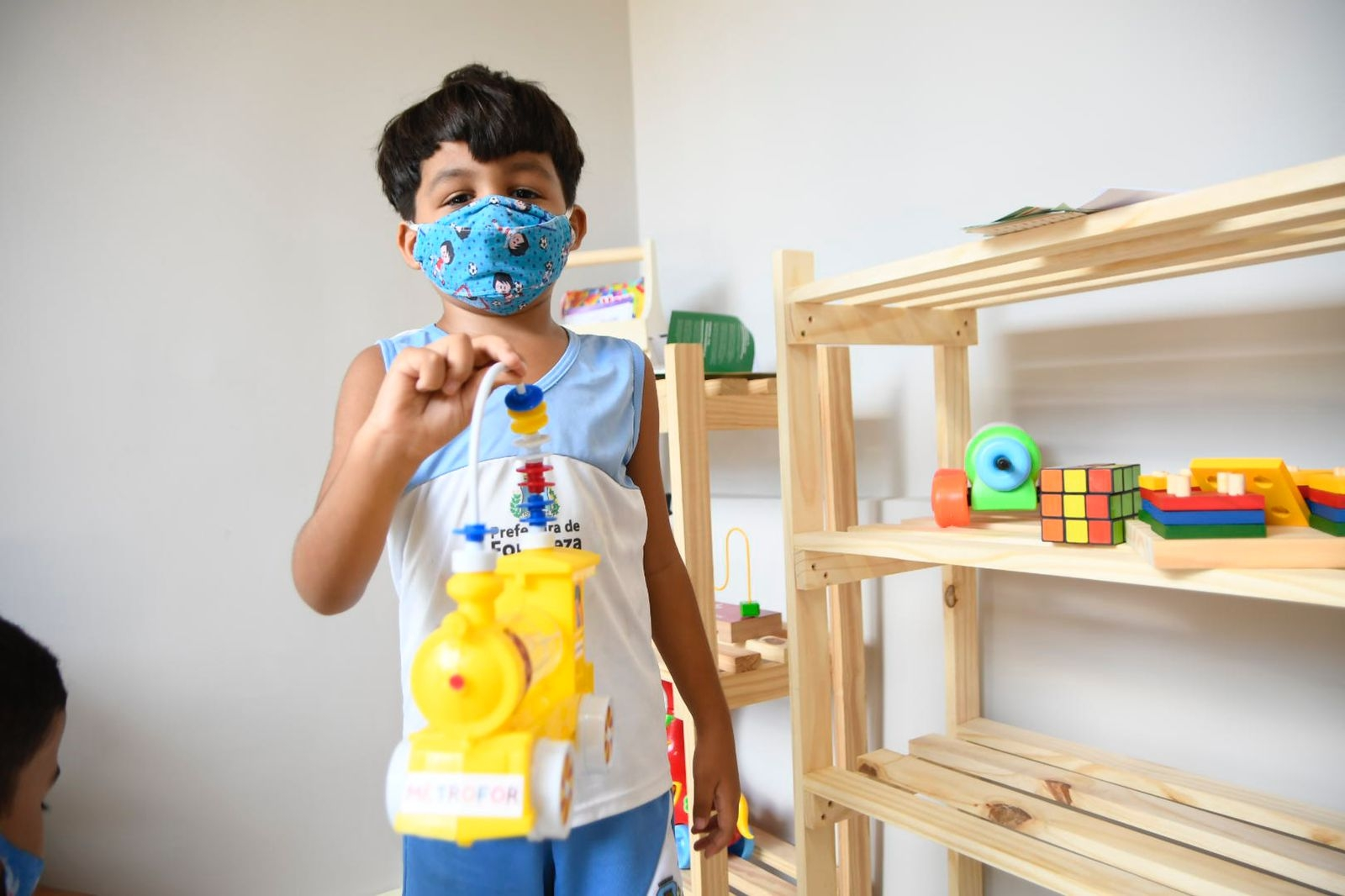Metrofor e MMLC entregam brinquedoteca na Creche Moura Brasil